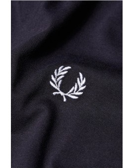FRED PERRY NAVY PLAIN CREW NECK
