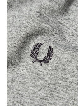 FRED PERRY VINTAGE STEEL PLAIN CREW NECK